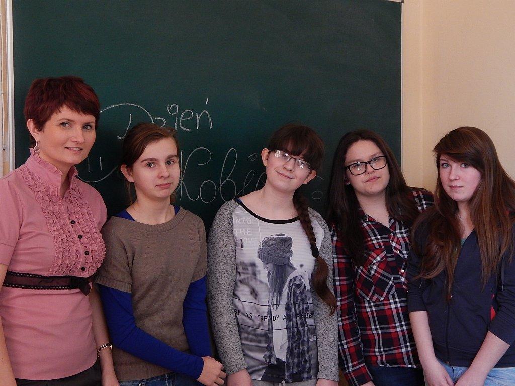 Dzień Kobiet w Gimnazjum 2015