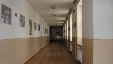 Liceum korytarz LO rawa