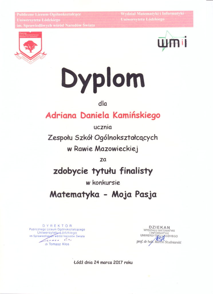 dyplom-matematyka-moja-pasja-2017
